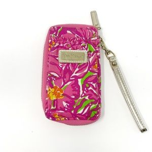 Lilly Pulitzer Floral Smart Phone Wristlet
